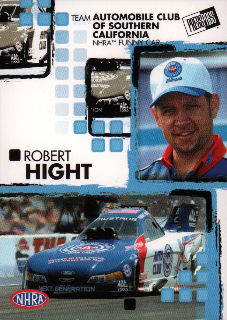 2005 Press Pass NHRA #20 Robert Hight RC