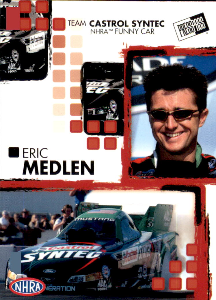 2005 Press Pass NHRA #21 Eric Medlen RC