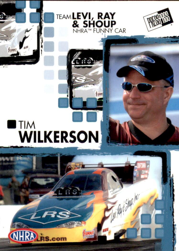 2005 Press Pass NHRA #26 Tim Wilkerson RC