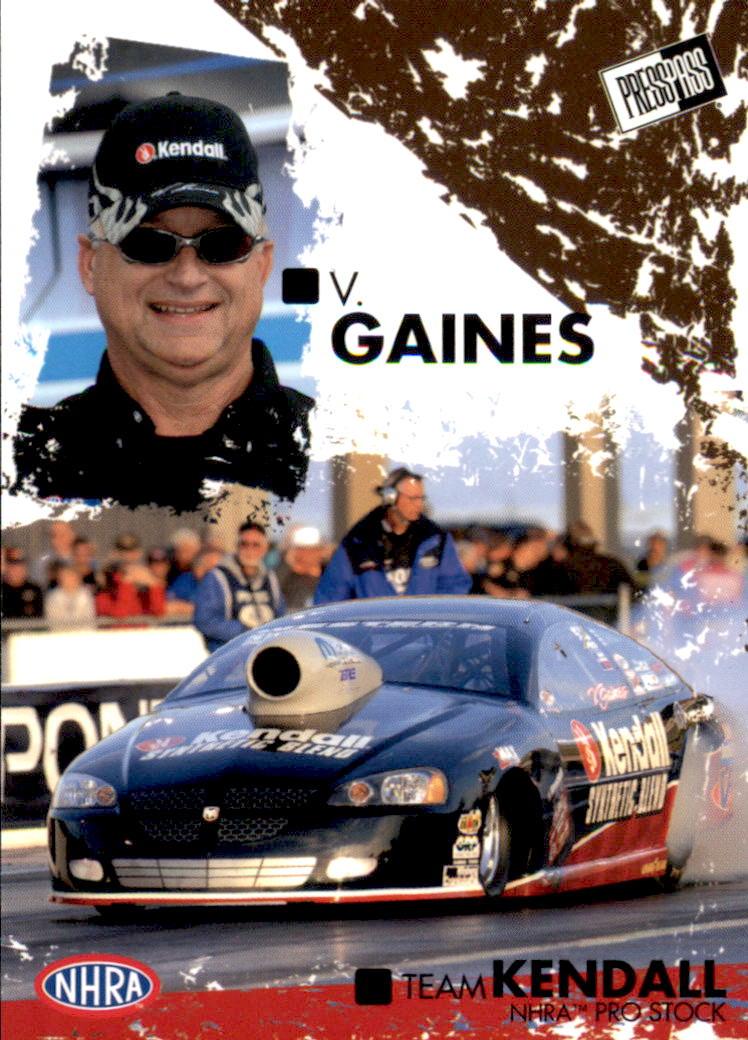 2005 Press Pass NHRA #33 Vieri Gaines RC