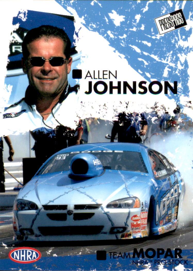 2005 Press Pass NHRA #34 Allen Johnson RC