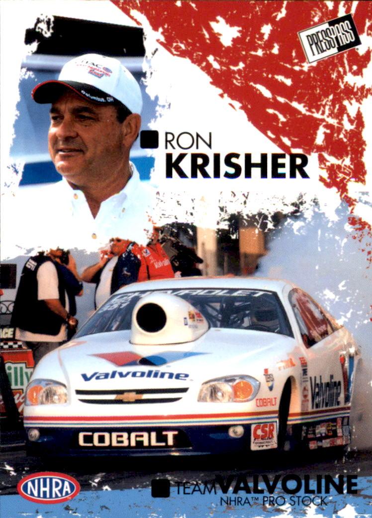 2005 Press Pass NHRA #38 Ron Krisher RC
