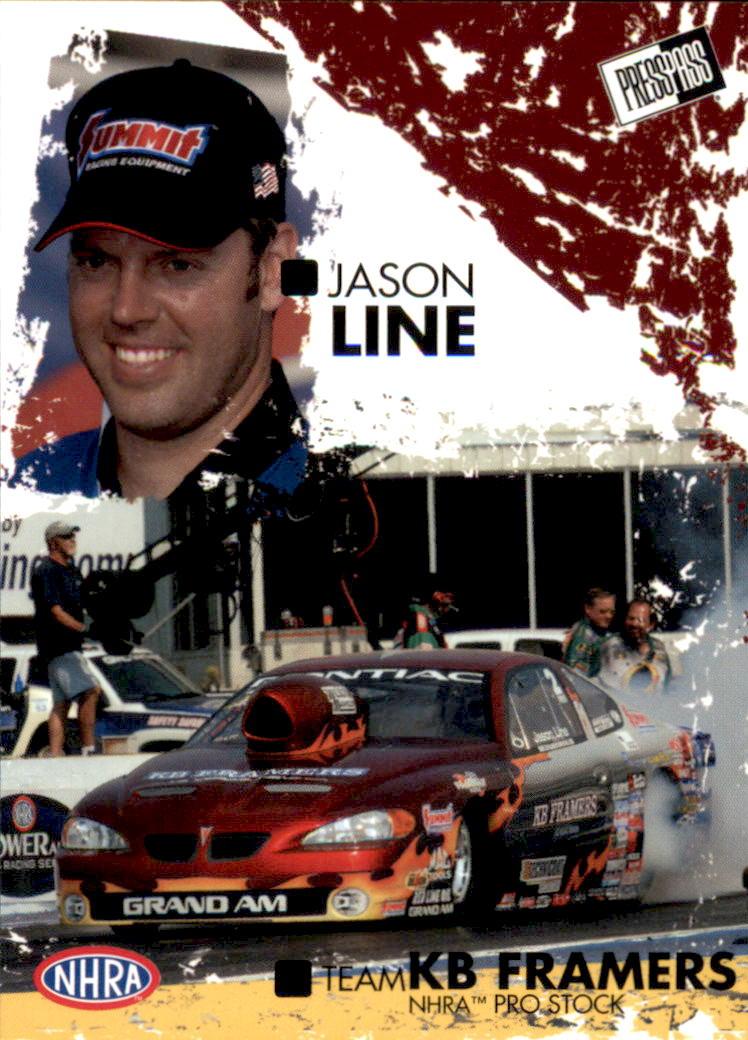 2005 Press Pass NHRA #40 Jason Line RC
