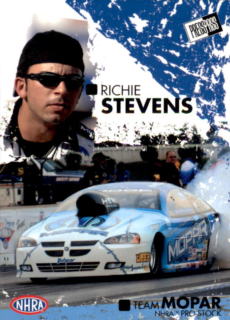 2005 Press Pass NHRA #41 Richie Stevens RC