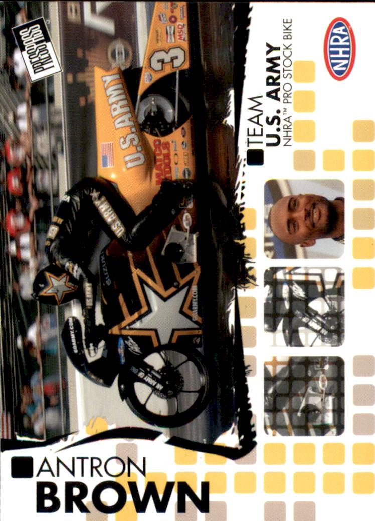 2005 Press Pass NHRA #43 Antron Brown RC