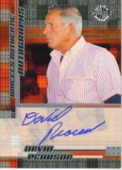 2005 Wheels Autographs #45 David Pearson