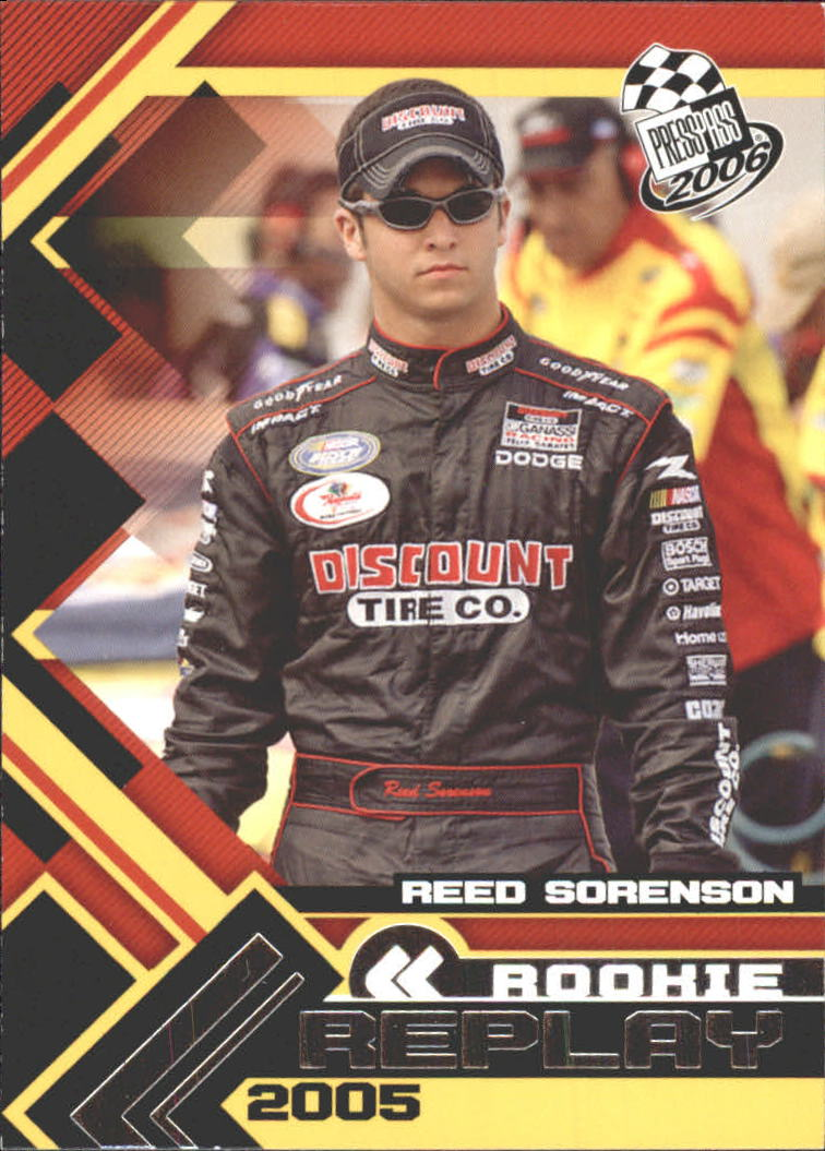 2006 Press Pass #71 Reed Sorenson RR