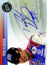2006 Press Pass Autographs #29 Todd Kluever CTS