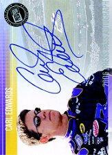 2006 Press Pass Autographs #13 Carl Edwards NBS