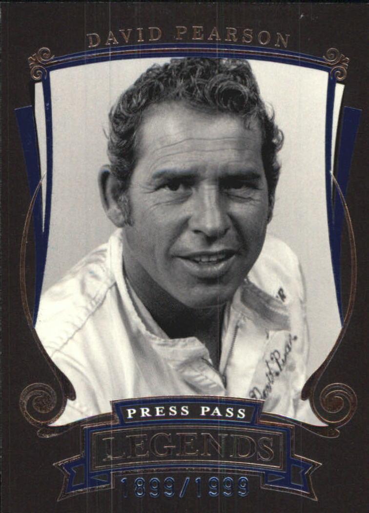 2006 Press Pass Legends Blue #B16 David Pearson