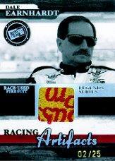 2006 Press Pass Legends Racing Artifacts Firesuit Patch #DEF Dale Earnhardt