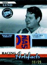 2006 Press Pass Legends Racing Artifacts Firesuit Patch #TLF Tiny Lund