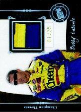 2006 Press Pass Legends Champion Threads Patch #CTBL Bobby Labonte
