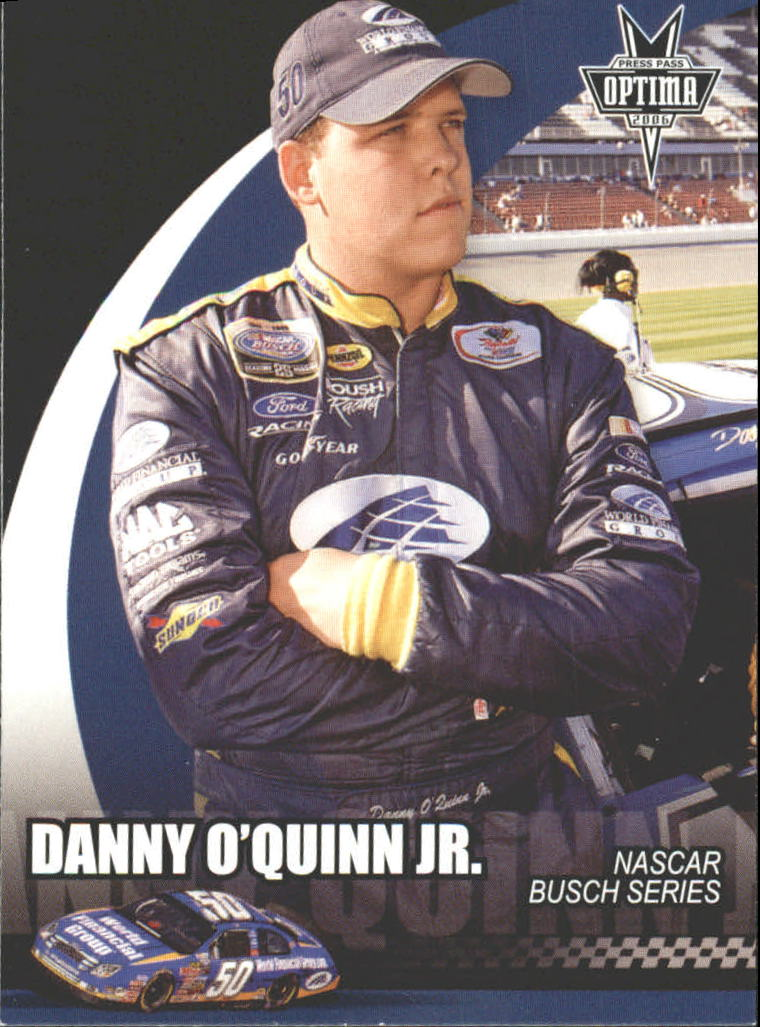2006 Press Pass Optima #42 Danny O'Quinn Jr. NBS RC