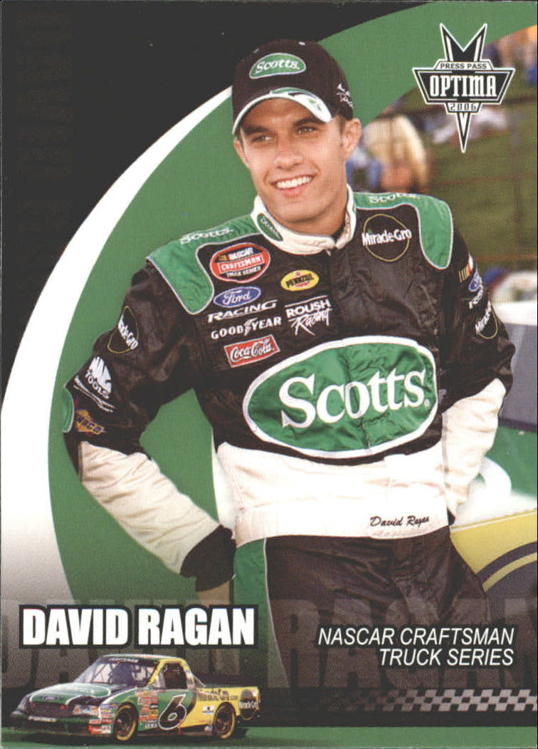 2006 Press Pass Optima #47 David Ragan CTS RC