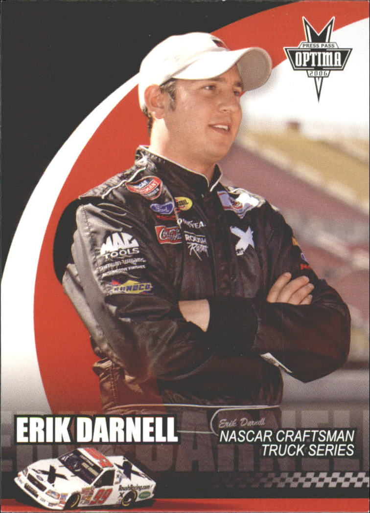 2006 Press Pass Optima #51 Erik Darnell CTS RC