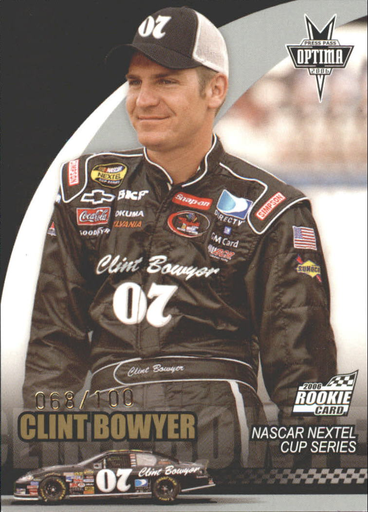 2006 Press Pass Optima Gold #G2 Clint Bowyer