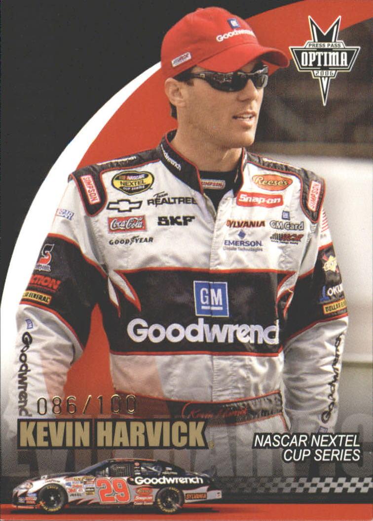 2006 Press Pass Optima Gold #G22 Kevin Harvick