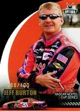 2006 Press Pass Optima Gold #G23 Jeff Burton