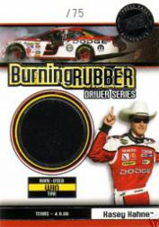 2007 Press Pass Burning Rubber Drivers #BRD4 Kasey Kahne Texas 4-9