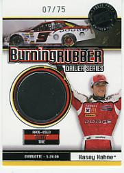 2007 Press Pass Burning Rubber Drivers #BRD9 Kasey Kahne Charlotte 5-28