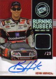 2007 Press Pass Burning Rubber Autographs #BRSKH Kevin Harvick/29