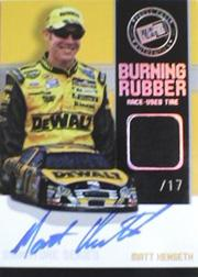 2007 Press Pass Burning Rubber Autographs #BRSMK Matt Kenseth/17