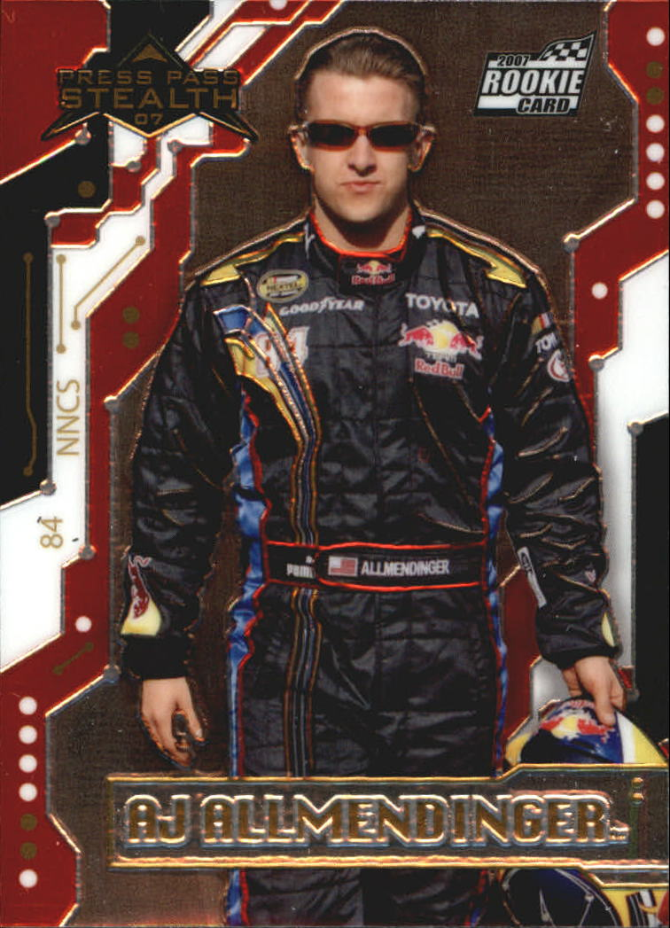 2007 Press Pass Stealth Chrome #29 A.J. Allmendinger RC