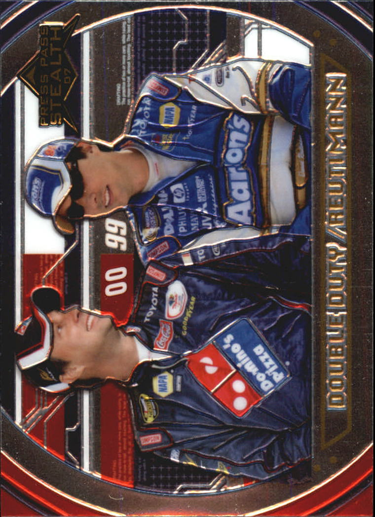 2007 Press Pass Stealth Chrome #76 David Reutimann DD