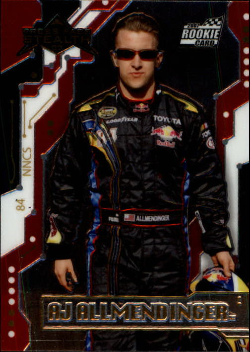 2007 Press Pass Stealth #29 A.J. Allmendinger RC