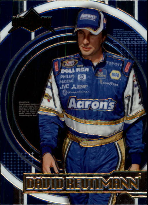 2007 Press Pass Stealth #43 David Reutimann NBS