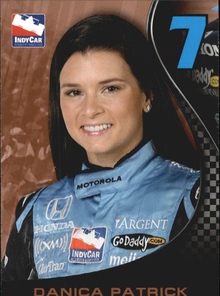 2007 Rittenhouse IRL #1 Danica Patrick RC