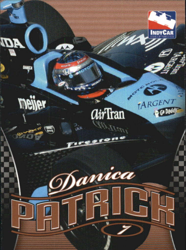 2007 Rittenhouse IRL #2 Danica Patrick's Car