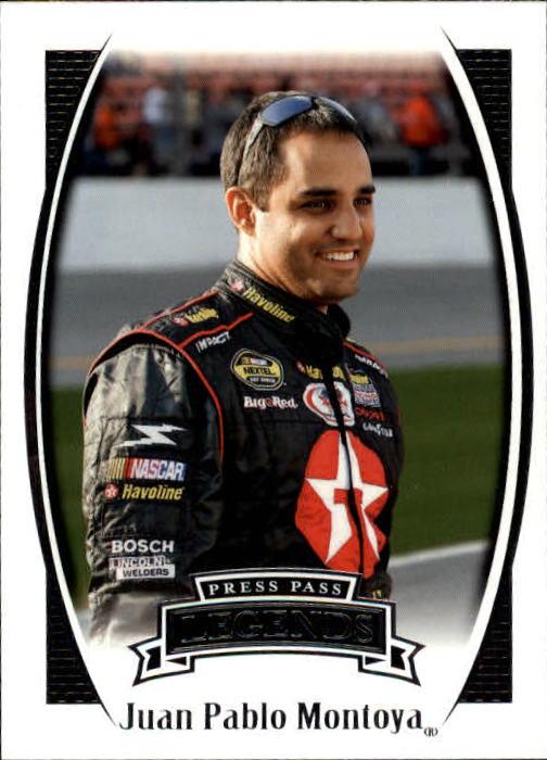 2007 Press Pass Legends #44 Juan Pablo Montoya RC