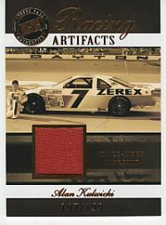 2007 Press Pass Legends Racing Artifacts Firesuit Bronze #AKF Alan Kulwicki