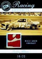 2007 Press Pass Legends Racing Artifacts Firesuit Patch #BAF Bobby Allison