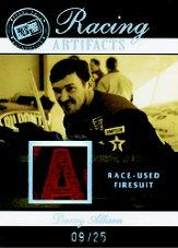 2007 Press Pass Legends Racing Artifacts Firesuit Patch #DAAF Davey Allison