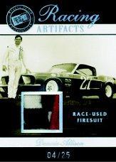 2007 Press Pass Legends Racing Artifacts Firesuit Patch #DOAF Donnie Allison