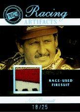 2007 Press Pass Legends Racing Artifacts Firesuit Patch #NBF Neil Bonnett