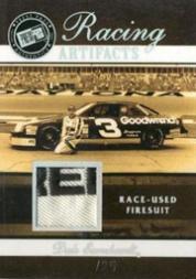 2007 Press Pass Legends Racing Artifacts Firesuit Patch #DEF Dale Earnhardt