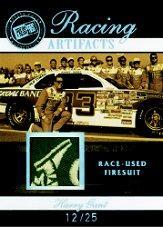 2007 Press Pass Legends Racing Artifacts Firesuit Patch #HGF Harry Gant