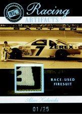 2007 Press Pass Legends Racing Artifacts Firesuit Patch #AKF Alan Kulwicki