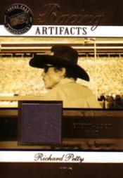 2007 Press Pass Legends Racing Artifacts Hat #RPH Richard Petty