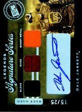 2007 Press Pass Legends Signature Series #DJ Dale Jarrett
