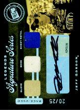 2007 Press Pass Legends Signature Series #JG Jeff Gordon