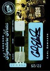 2007 Press Pass Legends Signature Series #CE Carl Edwards