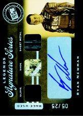2007 Press Pass Legends Signature Series #RN Ryan Newman