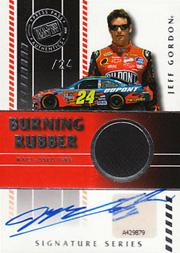 2008 Press Pass Burning Rubber Autographs #BRJG Jeff Gordon/24