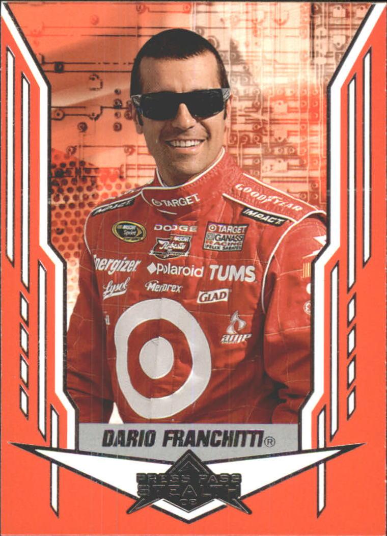2008 Press Pass Stealth #10 Dario Franchitti RC