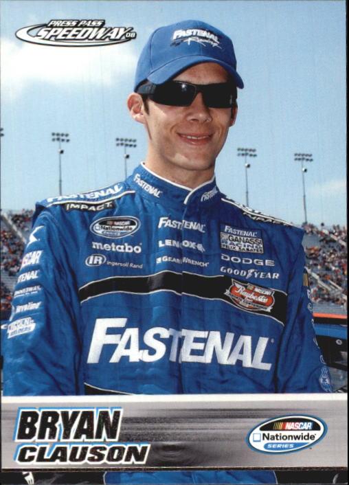 2008 Press Pass Speedway #41 Bryan Clauson NNS RC
